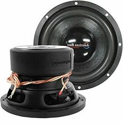 "Subwoofer 8"" Car Audio Speaker American Bass 600W Dual Voice"