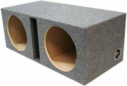 Subwoofer Universal Fit Vented Port Sub Box Speaker Enclosur