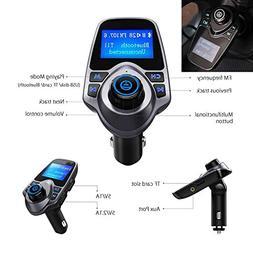 Super Bluetooth Car Audio Kit Handsfree Set FM Transmitter V
