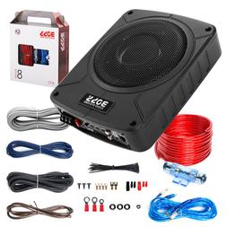 BOSS Audio Systems BAB8K 8 Inch Amplified Car Subwoofer/Wiri