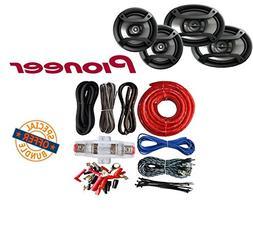 "Pioneer TS-165P + TS-695P 200W 6.5"" + 230W 6x9 Car Audio Spe"