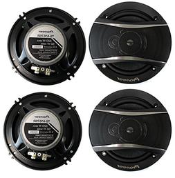 "Pioneer TS-A1676R 6.5"" Inch 3-Way 640W Car Coaxial Stereo Sp"