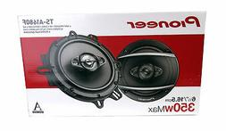 "Pioneer TS-A1680F 6.5"" 350 Watt 4-Way Coaxial Car Speakers"