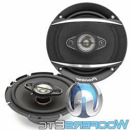"""PIONEER TS-A1686R A-Series 6.5"""" 350-Watt 4-Way Speakers"""