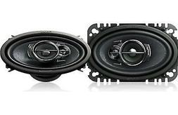 "Pioneer TS-A4676R 4"" x 6"" 3-Way Speaker, Set of 1"
