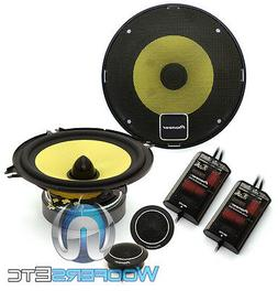 "Pioneer TS-D1330C 5 1/4"" Component Speaker Package, Set of 2"