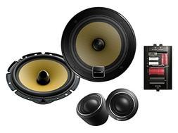 "Pioneer TS-D1730C 6 3/4"" Component Speaker Package, Set of 2"