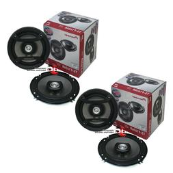 "4 x PIONEER TS-F1634R 6.5"" 2-WAY CAR AUDIO COAXIAL SPEAKERS"