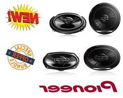 """New Pioneer TS-G6930F 6"""" x 9"""" 3-Way Coaxial Speaker 400W Max"""