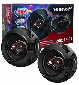 Pioneer TS-R1650S 6.5-Inch 80W RMS 3-Way Coaxial Speakers, S