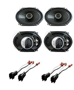 Pioneer TSG6845R 6 x 8 inches 2-Way 250W Car Speakers  with