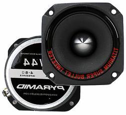 "1"" Audio Car Tweeter Speaker - Aluminum Die-Cast Frame, 30"