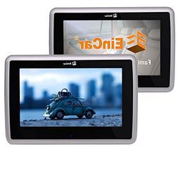 Eincar Twin Car DVD Player Headrest Monitor with 1024 x 600