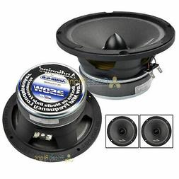 "Two Audiopipe APMB-6 6 - 6.5 "" 500w Low / Mid Frequency Car"