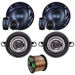 Two Sets Of Car Audio Speakers - Autotek ATS65C ATS 6.5 Inch