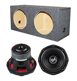 "Audiopipe TXX-BD3-10 10"" 2800W Car Audio Subwoofers + Dual S"