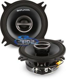 """ALPINE TYPE-S SPS-410 4"""" 2-WAY CAR AUDIO SPEAKERS 280 Watt"""