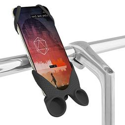 2-in-1 Bike Phone Holder Sound Amplifier, Bicycle Handlebar
