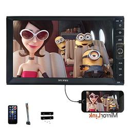 Universal Linux System 7 inch Double 2 DIN Car Radio Car Aud
