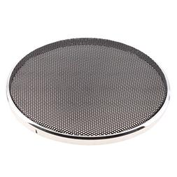 MagiDeal Speaker Decorative Circle Sliver Protective Cover C