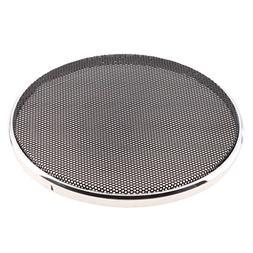 MagiDeal Speaker Decorative Circle Sliver Protective Cover C