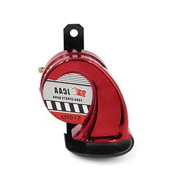 uxcell Red DC 12V 510HZ 110dB Car Motorcycle Snail Siren Spe