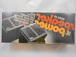 Vintage TENNA Bass 48 Car Stereo Speaker System ~ Model BS-6