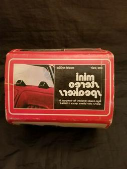 Vintage TENNA Mini  Car Stereo Speaker System ~ Model ms33w