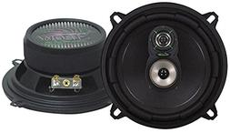 "Upgraded 5.25"" Pair 3-Way Speaker - Powerful 170 Watts Pea"