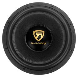"Rockville W15K9D2 15"" 5000w Car Audio Subwoofer Dual 2-Ohm S"