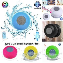 Waterproof Bluetooth Wireless Speaker Handsfree Music Mic Su