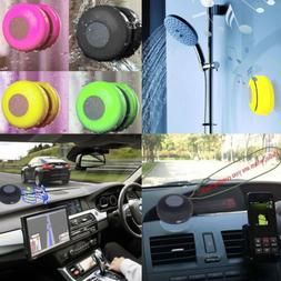Waterproof Wireless Bluetooth Mini Speaker SHOWER Car Suctio