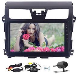 Free Wireless Backup Camera included!10.1'' Quad Core Car Mu