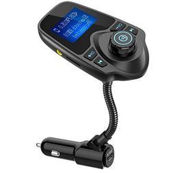 Eincar Wireless In-Car Bluetooth FM Transmitter Radio Adapte