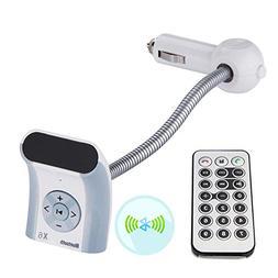 Wireless FM Transmitter Car Mp3 Player Bluetooth Car Audio M