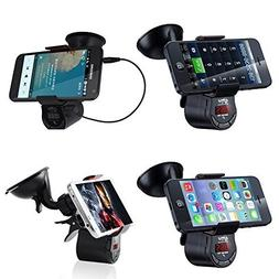 Wireless Radio 360 Degree Positioning FM Transmitter With Ca