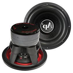Black Audio Woofers Audiopipe 12 Inch Woofer 2200 Watts Dual