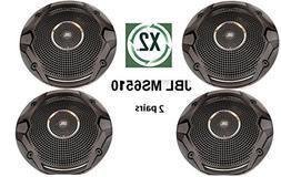 "X2-PAIRS JBL MS6510 Boat Marine Audio Black 6.5"" inch Dual C"