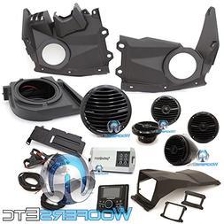 Rockford Fosgate X3-STAGE4 400 watt Stereo, Front Speaker, s