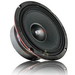 """DS18 PRO-X6M Loudspeaker - 6.5"""", Midrange, Red Aluminum Bull"""