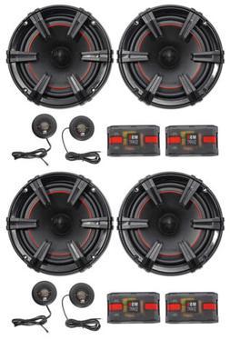 "2-Pair MB Quart XC1-216 X-Line 6.5"" 360 Watt Car Audio Compo"