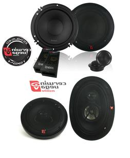 XED650C 6.5-Inch 300 Watts Max 2-Way Component Speaker Set W