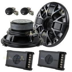 "Orion XTR52 5.25"" Inch 2-Way Speaker Component System Set 10"