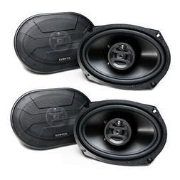 Hifonics Zeus 800 Watt 6 x 9 Inch 3 Way Car Audio Coaxial Sp
