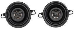 """Hifonics ZS35CX Zeus Speaker 3.5"""" Coaxial 125W Mount Depth 1"""